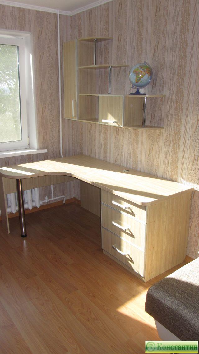 Новости - стол письменный школьник - константин - изготовлен.